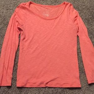 Pinkish/Peach Long Sleeve Shirt Size XL